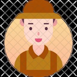 Farmer Gradient Icon