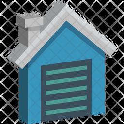 Farmhouse Isometric Icon