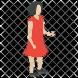 Fashion Girl Icon