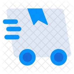 Fast Delivery Flat Icon