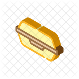 Fast Food Container Icon