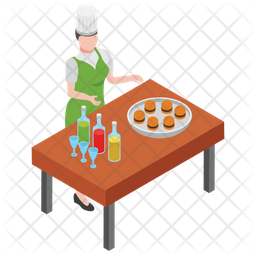 Fast Food Maker Icon