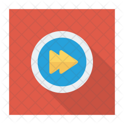 Fast Forward Button Icon Of Flat Style Available In Svg Png Eps Ai Icon Fonts