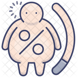 Fat rate Icon