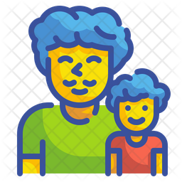 Father And Son Icon