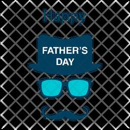 Father Day Logo Icon