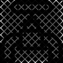 Faucet Line Icon
