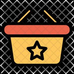 Favorite Basket Icon