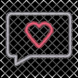 Favorite message Icon