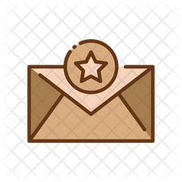 Favorite postal Icon