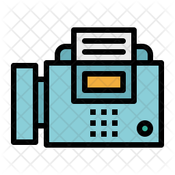 Fax Icon Of Colored Outline Style Available In Svg Png Eps Ai Icon Fonts