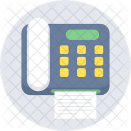 Fax Icon Of Rounded Style Available In Svg Png Eps Ai Icon Fonts