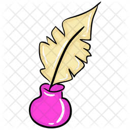 Feather Pen Icon Of Colored Outline Style Available In Svg Png Eps Ai Icon Fonts