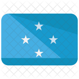 Federated states of Micronesia Flag Icon