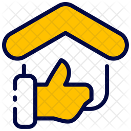 Feedback Colored Outline Icon