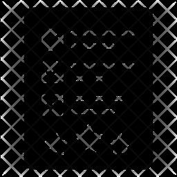 Feedback Form Glyph Icon