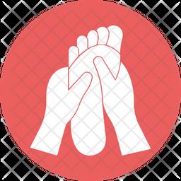 Feet Acupressure Icon