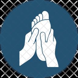 Feet Healing Icon