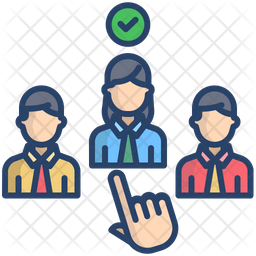Female Candidate Selection Icon