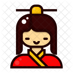 Female Character Icon