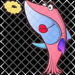 Female Fish Icon