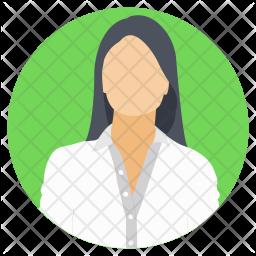 Female Surgeon Icon