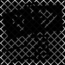 Feminism Freedom Glyph Icon
