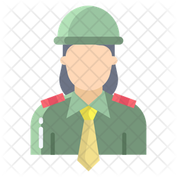 Female Officer Icon