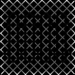 Fence Line Icon