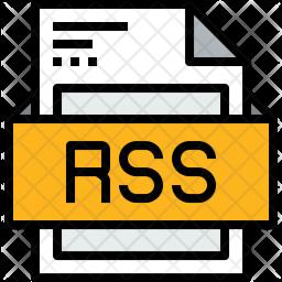 File Colored Outline Icon