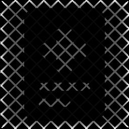 File Glyph Icon