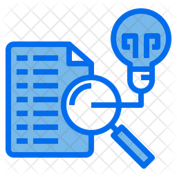 File Analysis Idea Colored Outline Icon