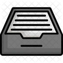 File drawer Icon