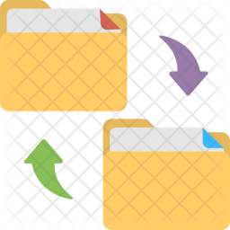 File Exchanging Icon png