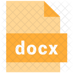 File, Format, Document, Type, Extension, Docx Icon