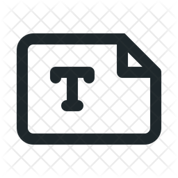 File landscape text Icon