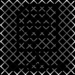 File Network Line Icon