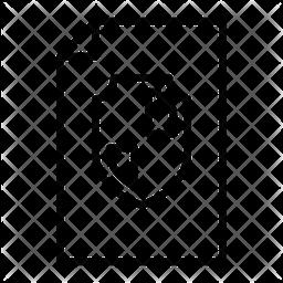 File Shield Line Icon