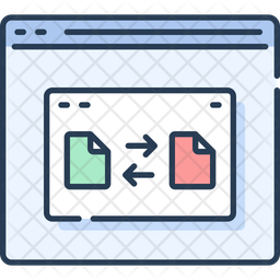File Transfer Icon