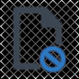File unavailable Icon