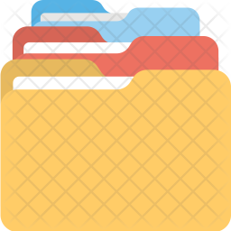 Files Flat Icon