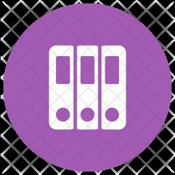 Files Cover Glyph Icon