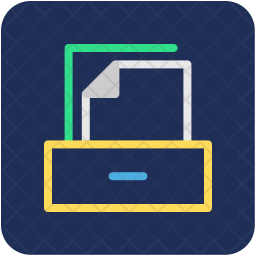 Files Rack Icon
