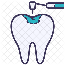 Filling Treatment Icon