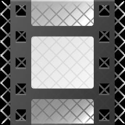 Filmreel Flat Icon