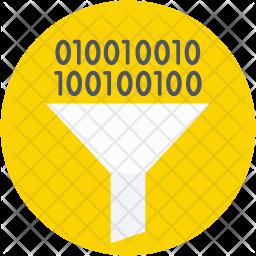 Filter Binary Icon
