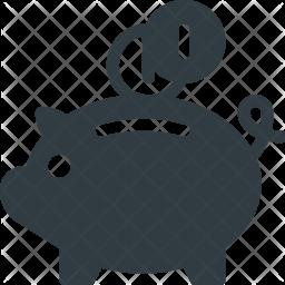 Finance Glyph Icon