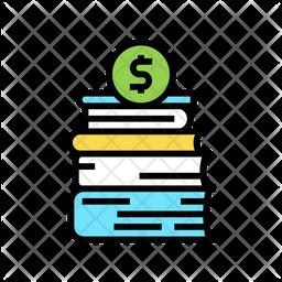 Finance Book Icon