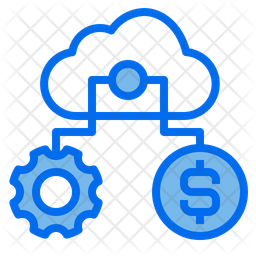 Finance Storage Management Colored Outline Icon