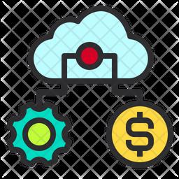 Finance Storage Management Icon